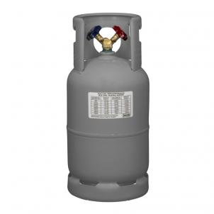 Kältemittel-Leerflasche (12,5 Liter - Grau)